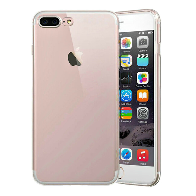 TPU чехол USAMS Ultra-thin Stealth Rose Gold для iPhone 7 Plus