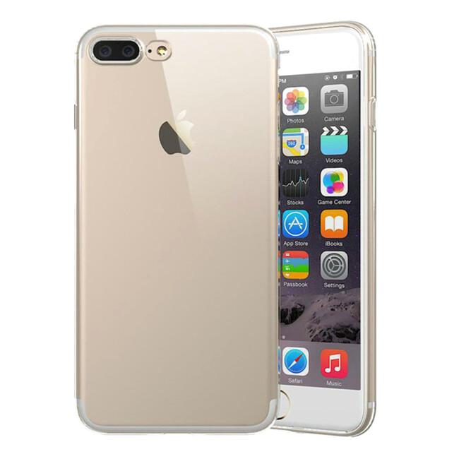 TPU чехол USAMS Ultra-thin Stealth Transparent для iPhone 7 Plus