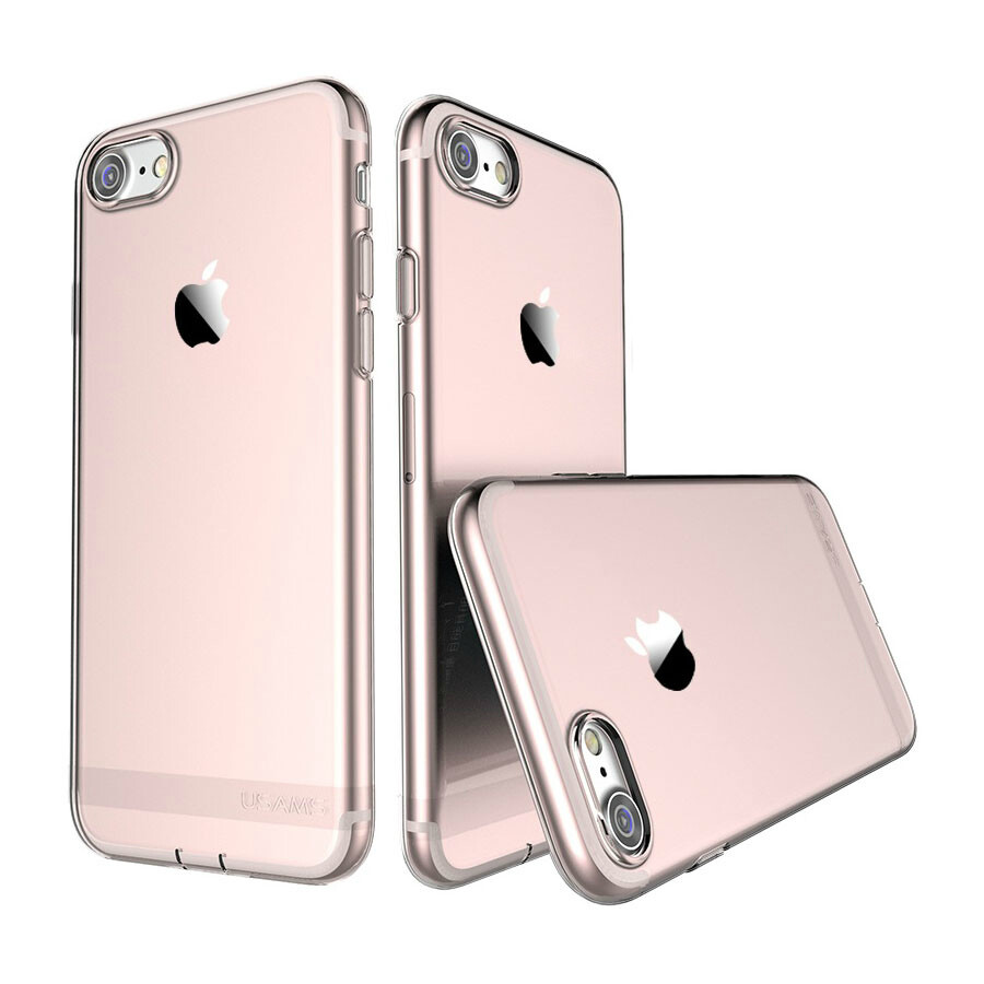 TPU чехол USAMS Ultra-thin Stealth Rose Gold для iPhone 7/8