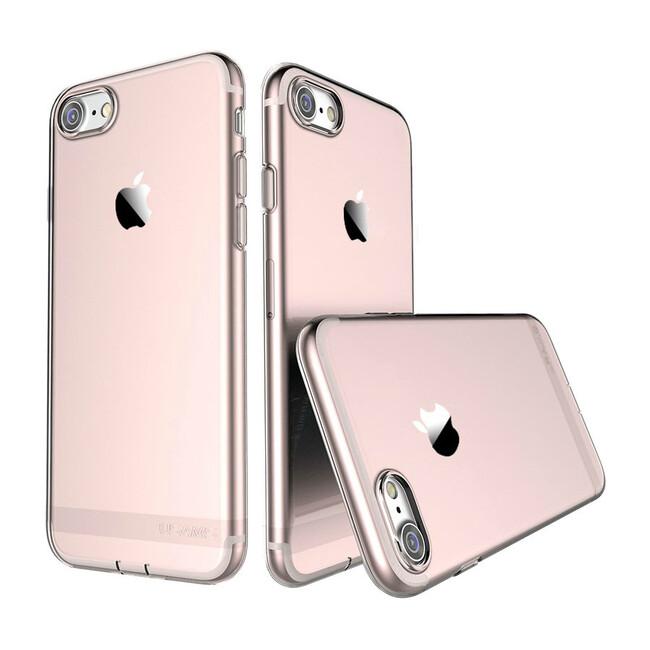 TPU чехол USAMS Ultra-thin Stealth Rose Gold для iPhone 7