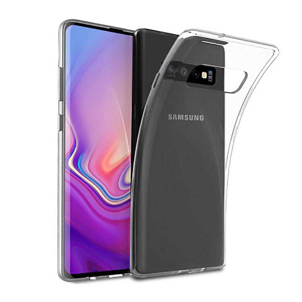 Купить Прозрачный TPU чехол oneLounge SilicolDots для Samsung Galaxy S10