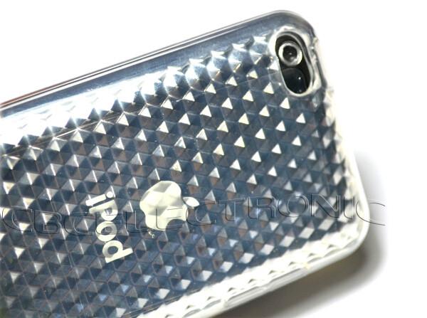 Прозрачный чехол DIAMOND для iPod Touch 4G