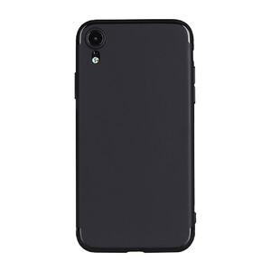 Купить Тонкий черный TPU чехол oneLounge SilicolDots для iPhone XR