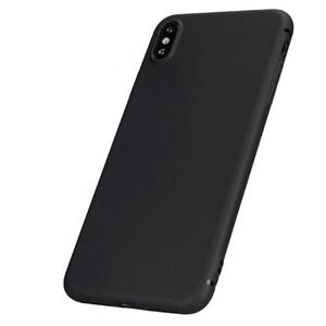 Купить Тонкий черный TPU чехол oneLounge SilicolDots для iPhone XS/X