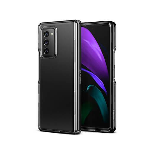 Защитный чехол Spigen Case Ultra Hybrid Black для Galaxy Z Fold 2
