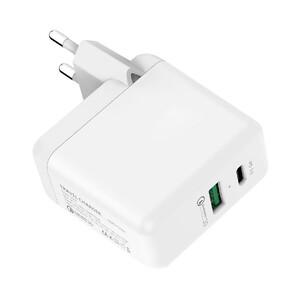 Купить Быстрое зарядное устройство oneLounge Travel Charger QC08 White Quick Charge 3.0