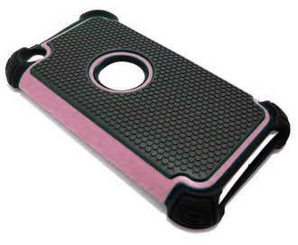 iLoungeMax Triple Defender Hybrid Case Light Pink для iPod Touch 4G