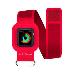 Купить Спортивный ремешок Twelve South ActionSleeve Red для Apple Watch 38mm Series 1/2/3