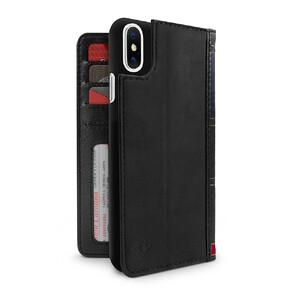 Купить Чехол-книжка Twelve South BookBook Black для iPhone X/XS