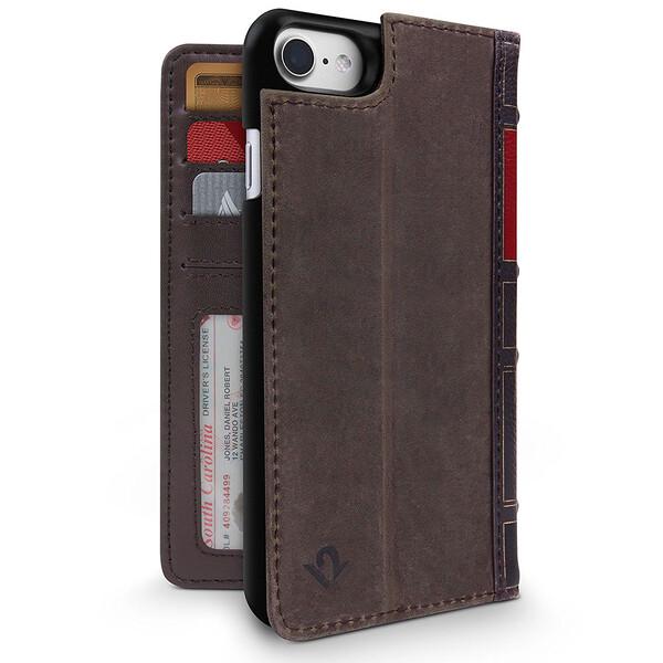 Чехол Twelve South BookBook Brown для iPhone 7 | 8 | SE 2020