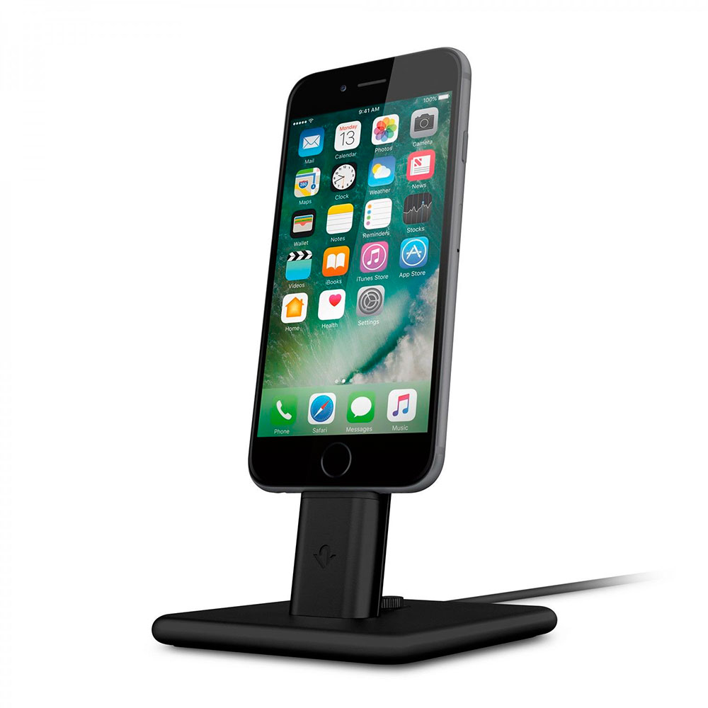 Купить Док-станция Twelve South HiRise 2 Deluxe Black для iPhone | iPad