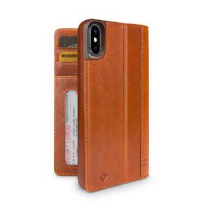 Купить Чехол-книжка Twelve South Journal Cognac для iPhone X