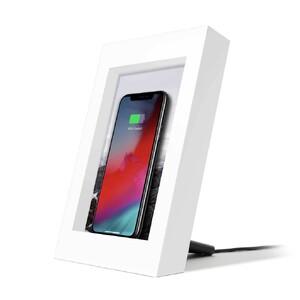 Купить Беспроводная зарядка Twelve South PowerPic Charging Picture Frame White 10W