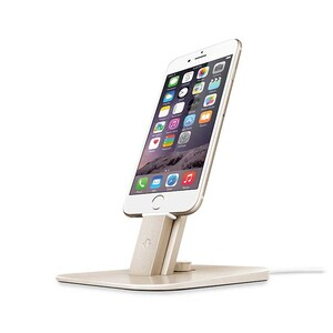 Купить Док-станция Twelve South HiRise Deluxe Gold для iPhone/iPad