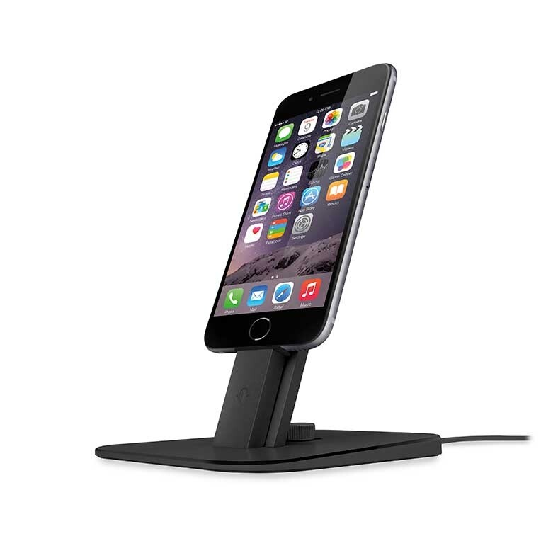 Док-станция Twelve South HiRise Deluxe Black для iPhone/iPad