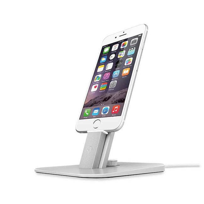 Док-станция Twelve South HiRise Deluxe Silver для iPhone/iPad