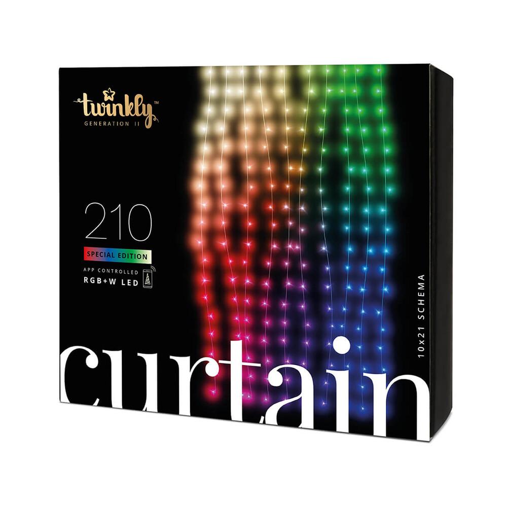 Купить Умная светодиодная гирлянда Twinkly Curtain RGBW-210 (1.45 м на 2.1 м)
