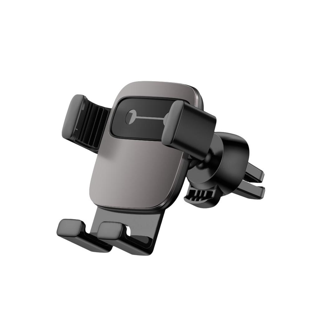 Купить Универсальный автодержатель Baseus Cube Gravity Black