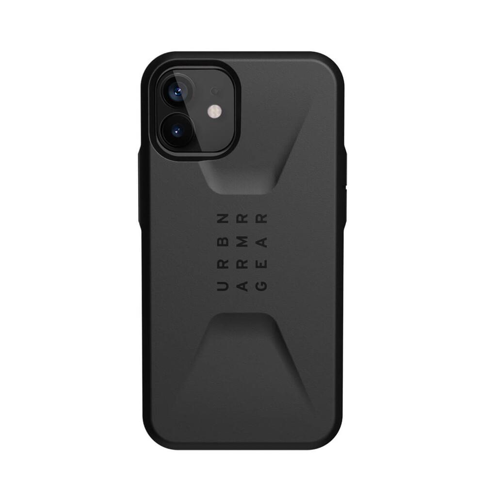 Купить Черный противоударный чехол UAG Civilian Black для iPhone 12 | 12 Pro
