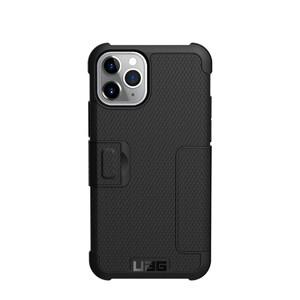 Купить Противоударный чехол-книжка UAG Metropolis Black для iPhone 11 Pro Max