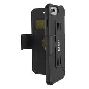 Купить Чехол UAG Metropolis Black для iPhone 8 Plus/7 Plus/6s Plus/6 Plus