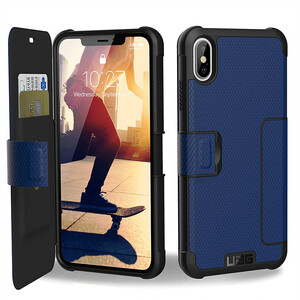 Купить Противоударный чехол UAG Metropolis Cobalt для iPhone XS Max