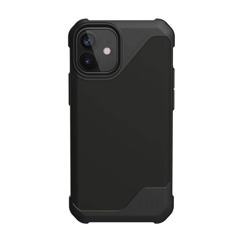 Купить Противоударный чехол UAG Metropolis LT SATN Black для iPhone 12 | 12 Pro