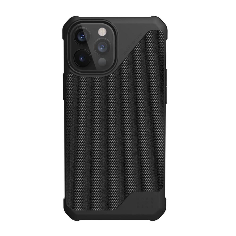 Купить Противоударный чехол UAG Metropolis LT FIBR Black для iPhone 12 Pro Max