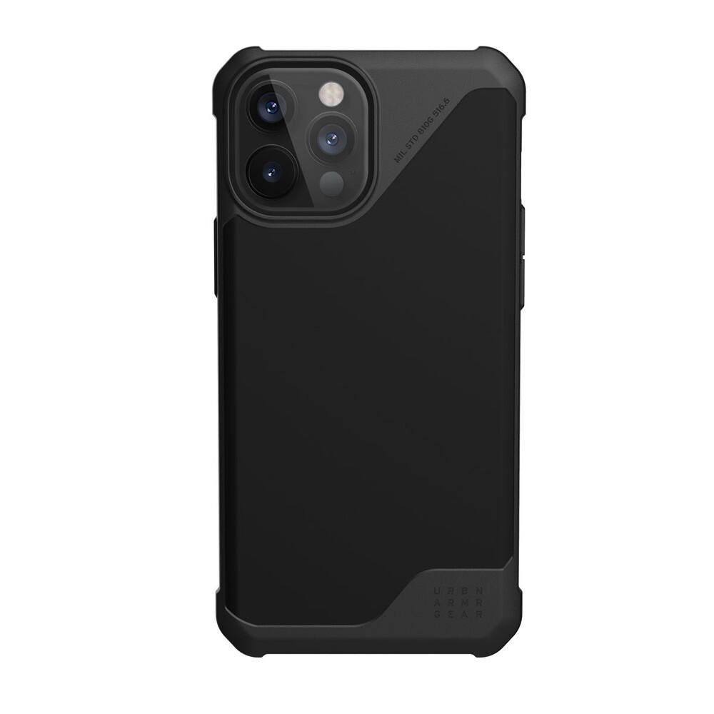 Купить Противоударный чехол UAG Metropolis LT SATN Black для iPhone 12 Pro Max