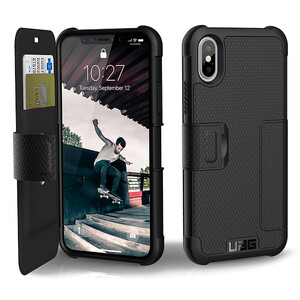 Купить Чехол UAG Metropolis Series Black для iPhone X/XS