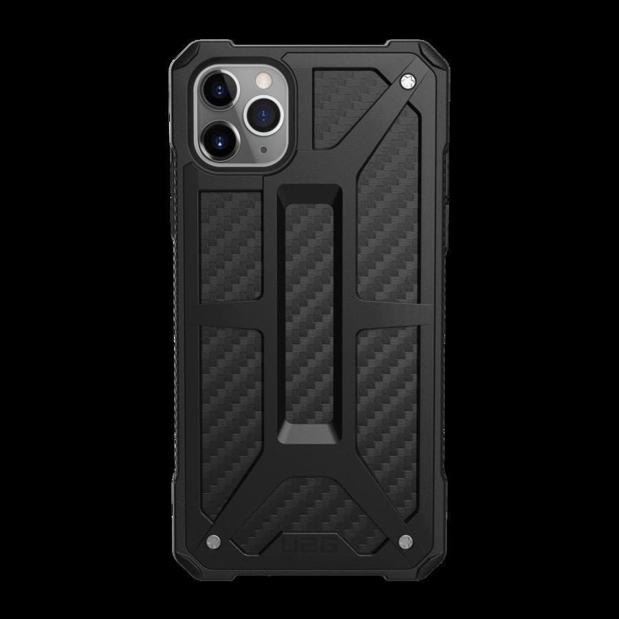 Купить Противоударный чехол UAG Monarch Carbon Fiber для iPhone 11 Pro