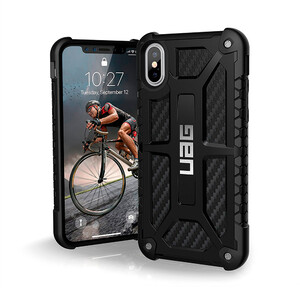 Купить Чехол UAG Monarch Carbon Fiber для iPhone X/XS