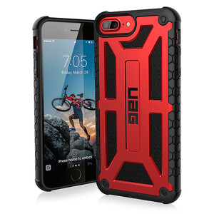 Купить Чехол UAG Monarch Crimson для iPhone 8 Plus/7 Plus/6s Plus/6 Plus