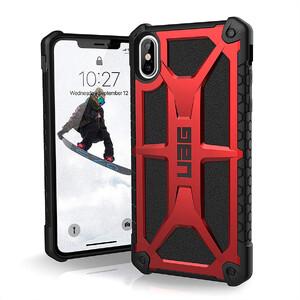 Купить Ударопрочный чехол UAG Monarch Crimson для iPhone XS Max