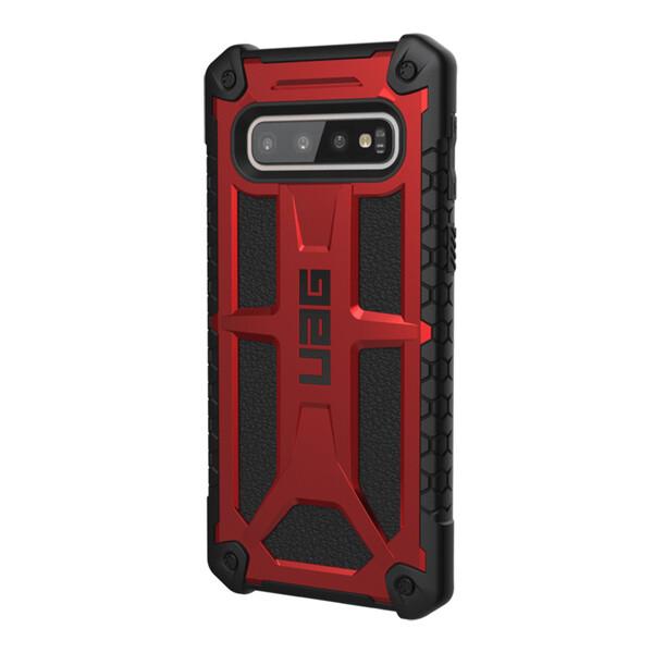 Противоударный чехол UAG Monarch Crimson для Samsung Galaxy S10