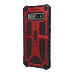 Противоударный чехол UAG Monarch Crimson для Samsung Galaxy S10 Plus