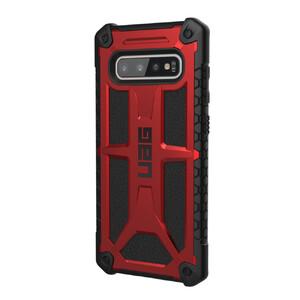 Купить Противоударный чехол UAG Monarch Crimson для Samsung Galaxy S10 Plus