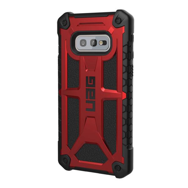 Противоударный чехол UAG Monarch Crimson для Samsung Galaxy S10e