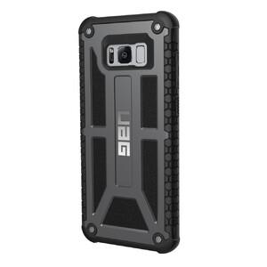 Купить Ударопрочный чехол UAG Monarch Graphite для Samsung Galaxy S8 Plus