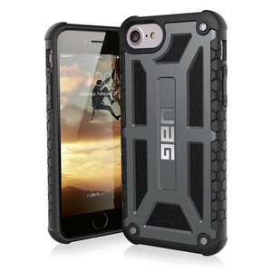 Купить Чехол UAG Monarch Graphite для iPhone 7/8/SE 2020/6s/6