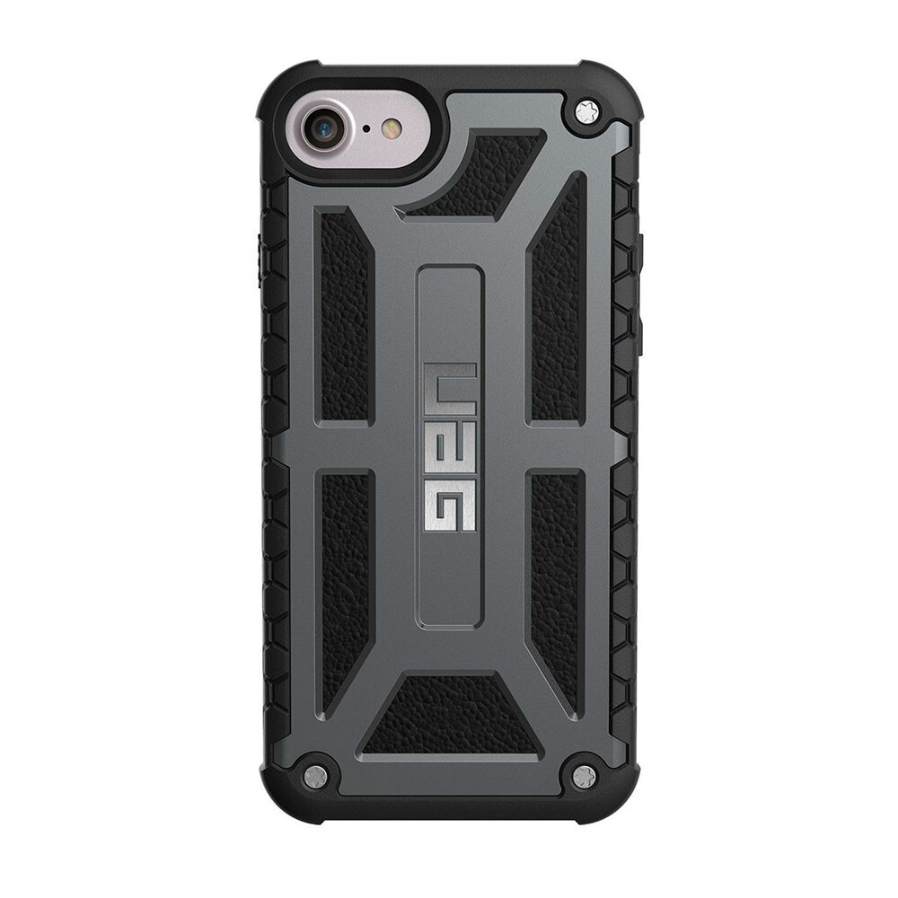 Чехол UAG Monarch Graphite для iPhone 7/8/SE 2020/6s/6