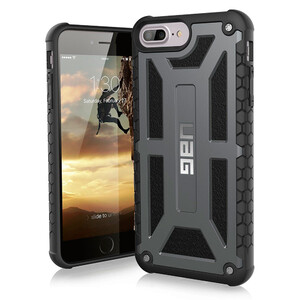 Купить Чехол UAG Monarch Graphite для iPhone 8 Plus/7 Plus/6s Plus/6 Plus