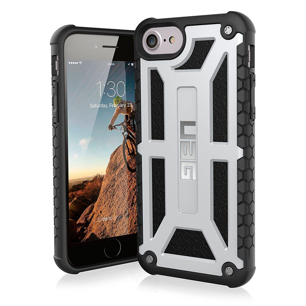 Чехол UAG Monarch Platinum для iPhone 8/7/6s/6