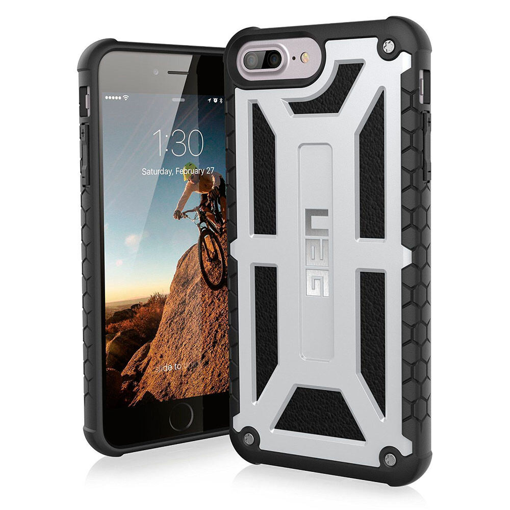 Чехол UAG Monarch Platinum для iPhone 8 Plus/7 Plus/6s Plus/6 Plus