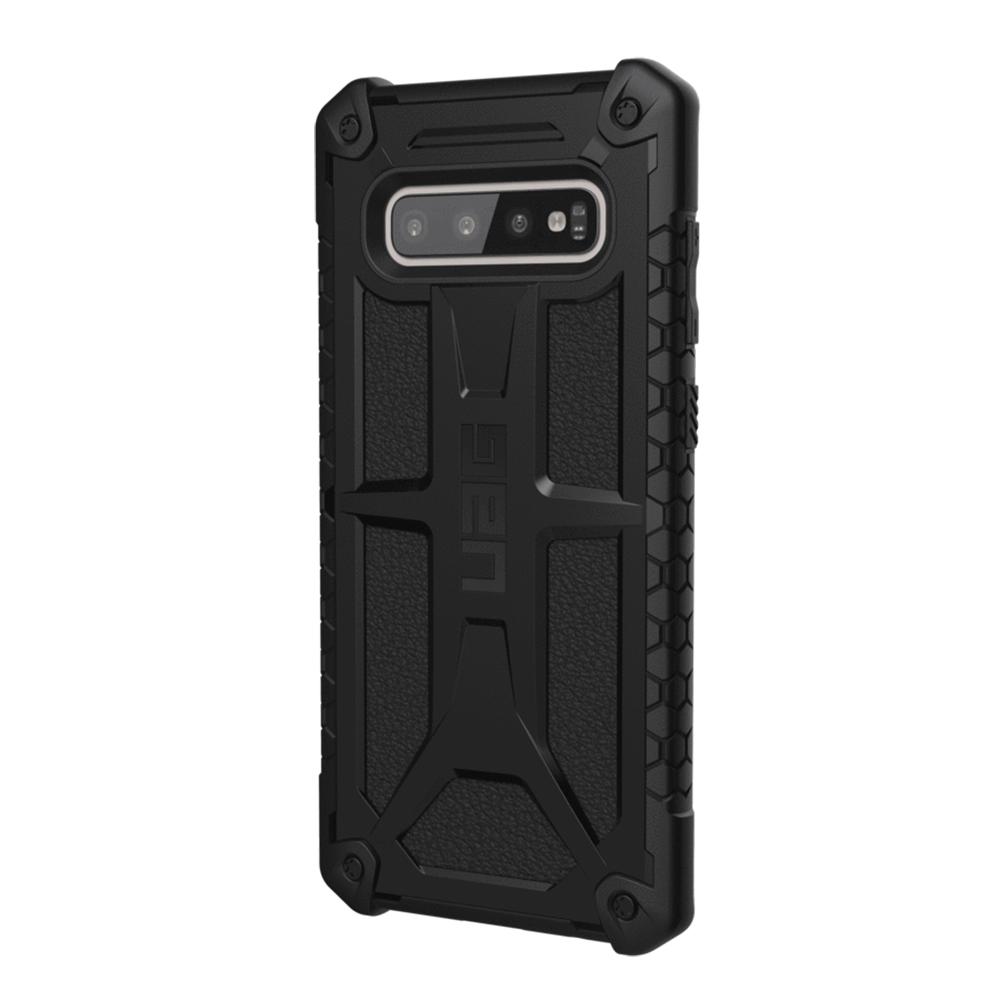 Купить Противоударный чехол UAG Monarch Black для Samsung Galaxy S10 Plus