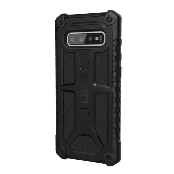 Противоударный чехол UAG Monarch Black для Samsung Galaxy S10 Plus