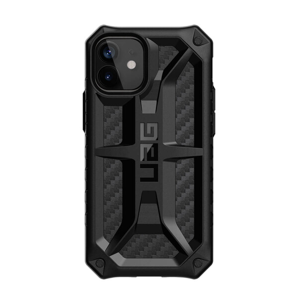 Противоударный чехол UAG Monarch Series Carbon Fiber для iPhone 12 mini