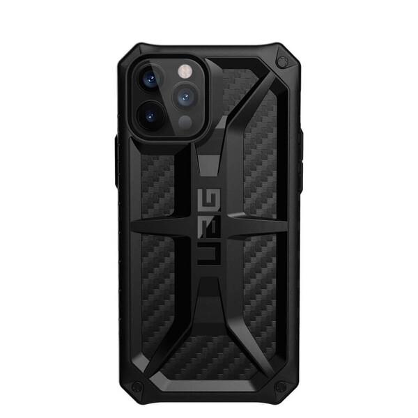 Противоударный чехол UAG Monarch Series Carbon Fiber для iPhone 12 Pro Max