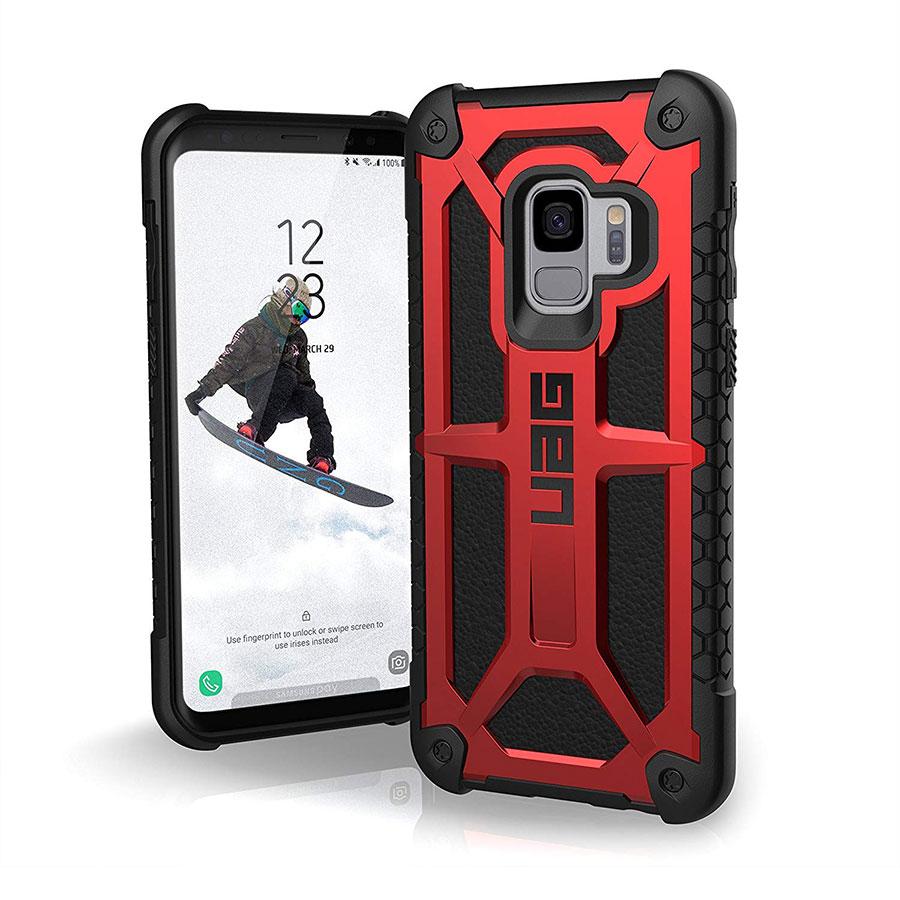 Купить Ударопрочный чехол UAG Monarch Crimson для Samsung Galaxy S9