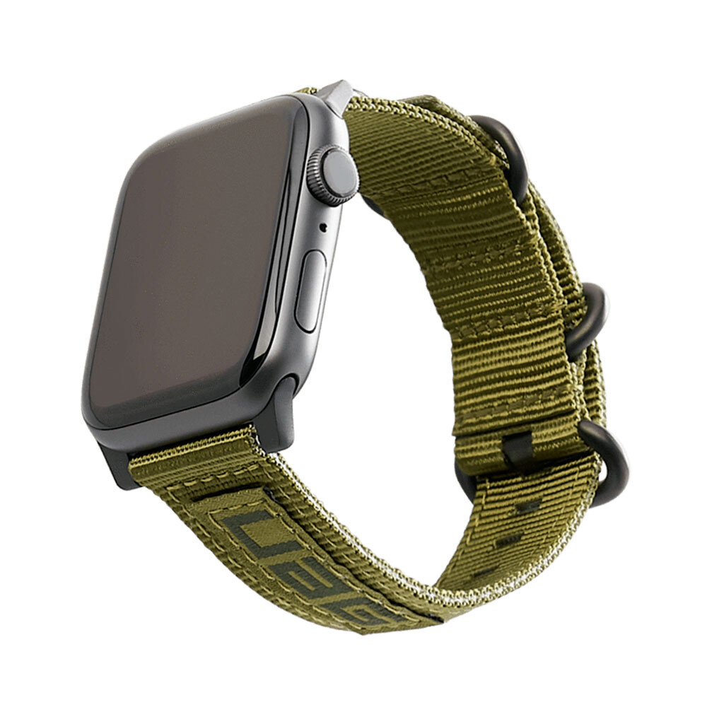 Ремешок UAG NATO Strap Olive Drab для Apple Watch 42mm/44mm Series 1/2/3/4/5